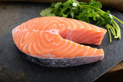 FROZEN SALMON STEAK 200G