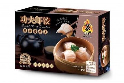 Crystal Shrimp Dumpling (6pcs) 功夫虾饺 [911]