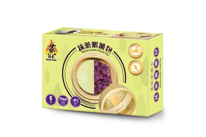 Bun - Matcha Sweet Potato Bun (6pcs) 抹茶紫薯包 [905]